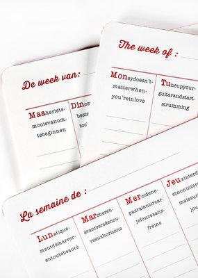 SERAX Week Planner