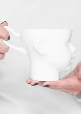 ENDE Doll Head Mug - White Porcelain