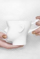 ENDE Doll Head Mug White