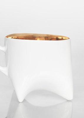 ENDE Triple Cup - Gold Porcelain