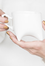 ENDE Triple Cup White & Gold