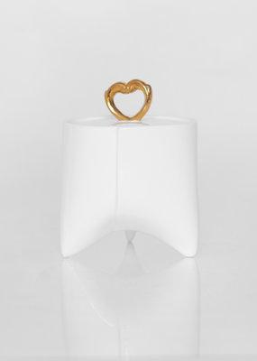 ENDE Sugar Bowl - Gold Porcelain