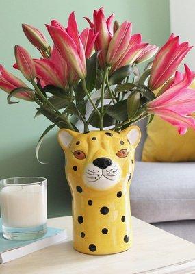 Lisa Angel Ceramic Leopard Vase