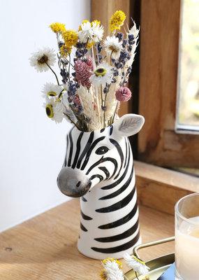 Lisa Angel Ceramic Zebra Vase