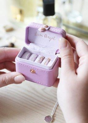Lisa Angel Ring Box - Lavender