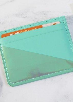 Lisa Angel Card Holder - Turquoise