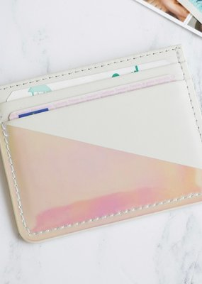 Lisa Angel Card Holder - Grey