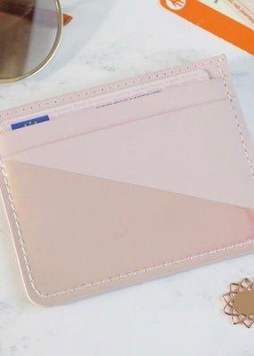 Lisa Angel Card Holder - Pink