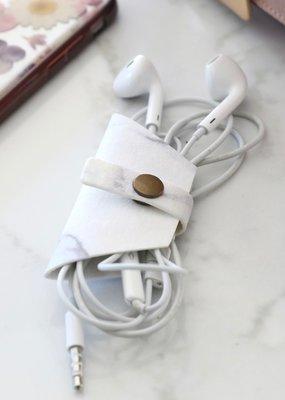 Lisa Angel EarPods Bag - Marble Effect