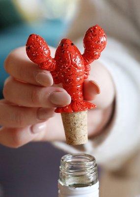 Lisa Angel Lobster Bottle Stopper
