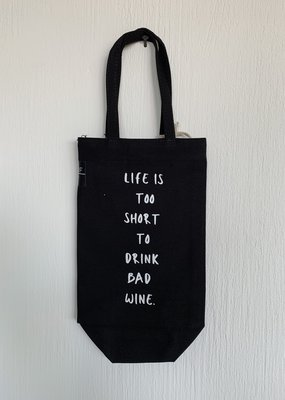 NEUF Brussels Bottle Bag - Life Is Too Short