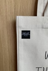 NEUF Brussels Tote Bag - When I die, the cat gets everything.