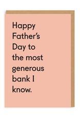OHH DEER DadLove - Generous Bank