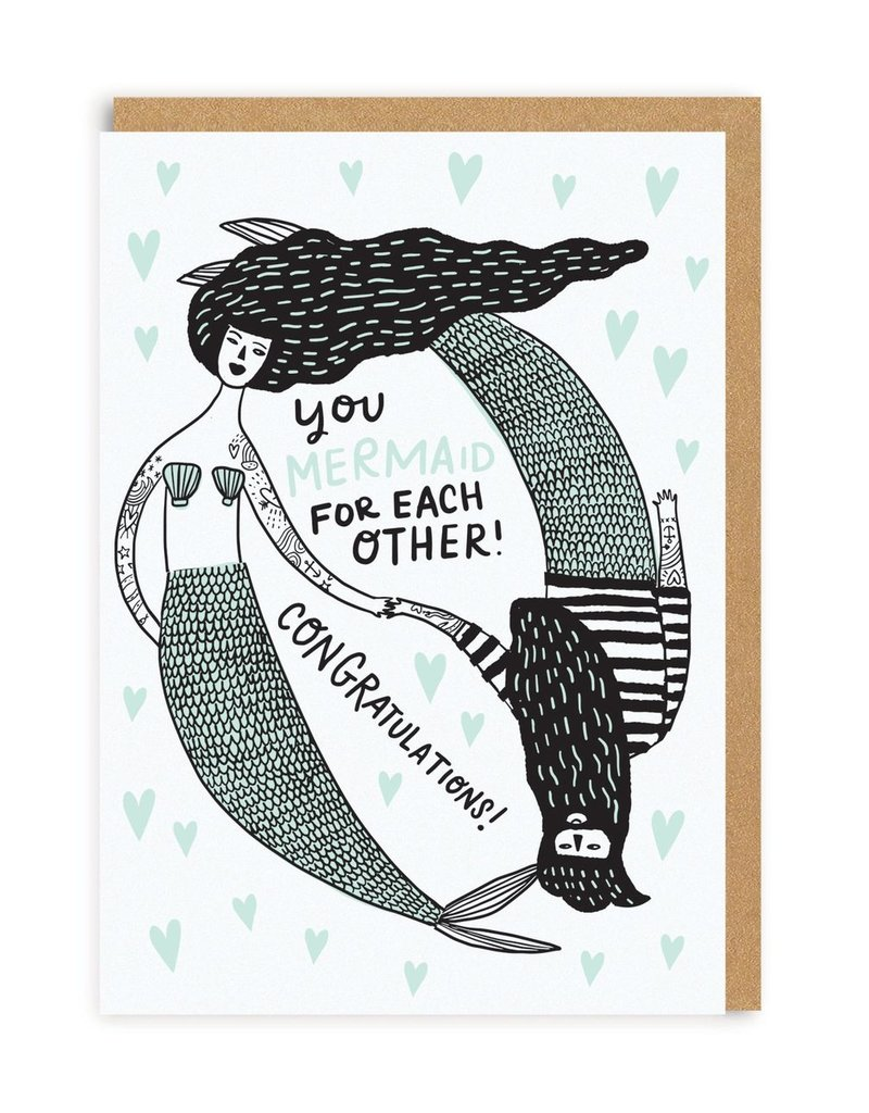 OHH DEER Wedding - Mermaid For Each Other