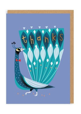 OHH DEER ThankYou - Thanks Peacock