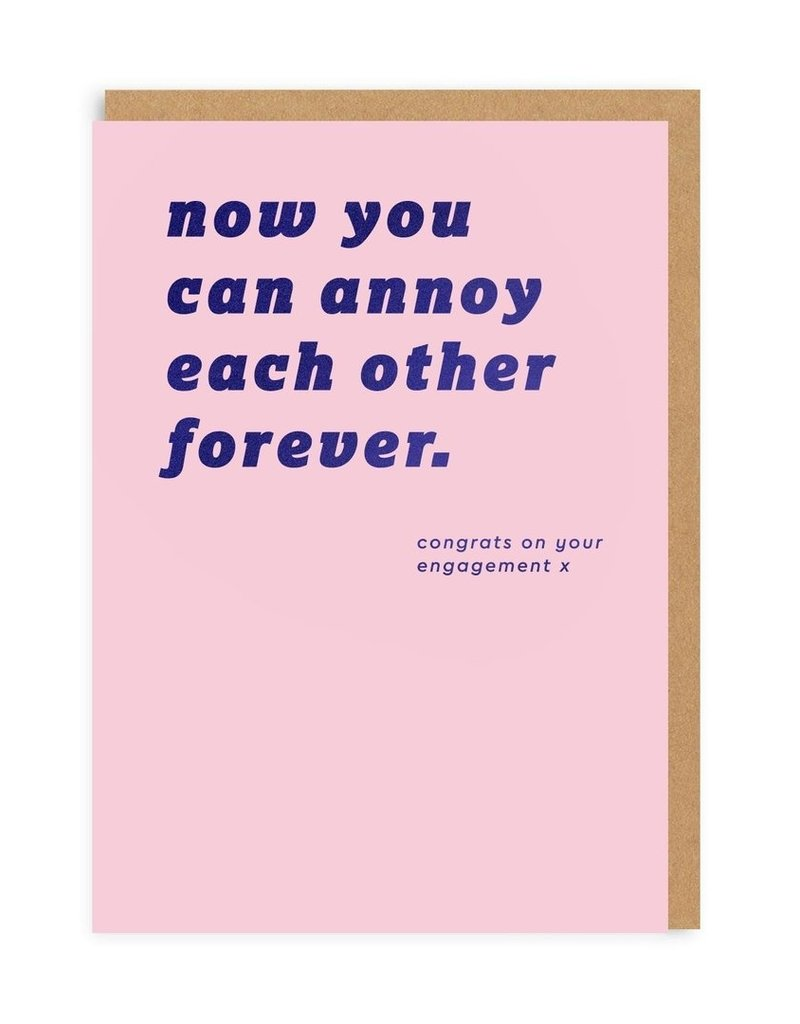 OHH DEER Wedding - Annoy Each Other Forever