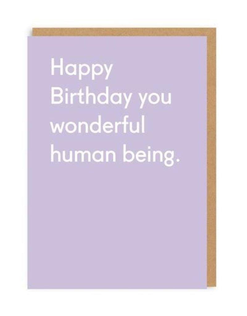 OHH DEER Birthday - Wonderful Human Being