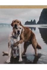 OHH DEER Love - Dogs Hug