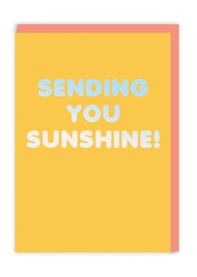 OHH DEER Support - Sending You Sunshine