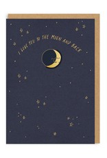 OHH DEER Love - Moon And Back + Pin