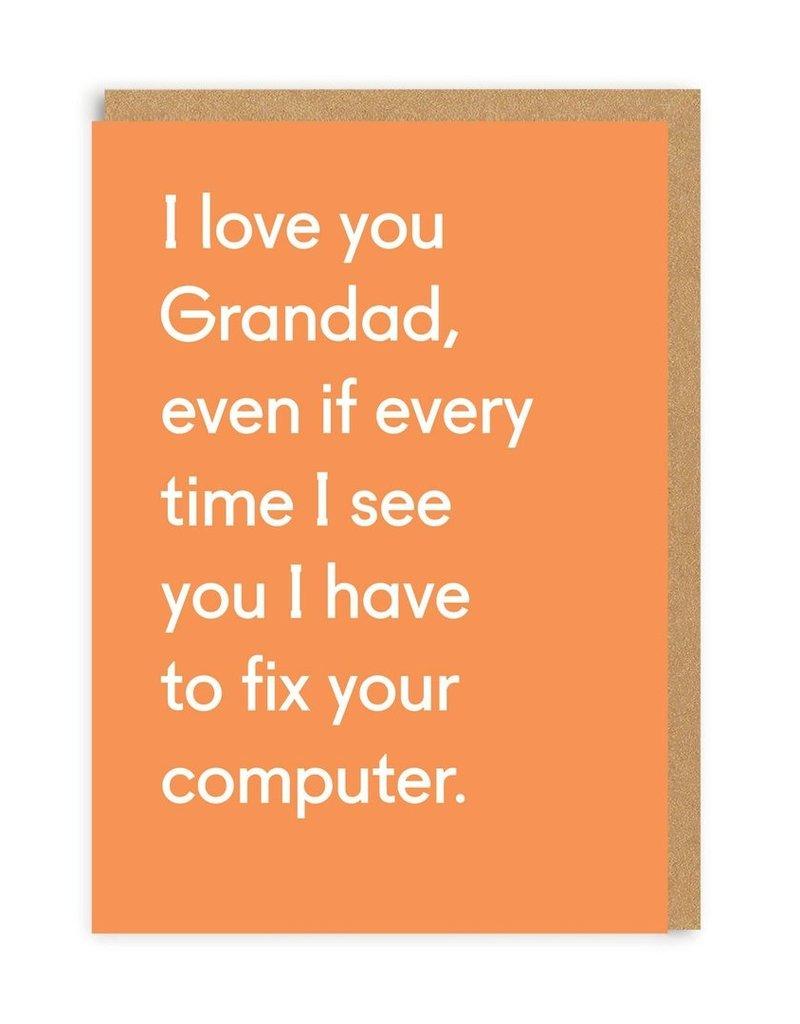 OHH DEER Love - I Love You Grandad