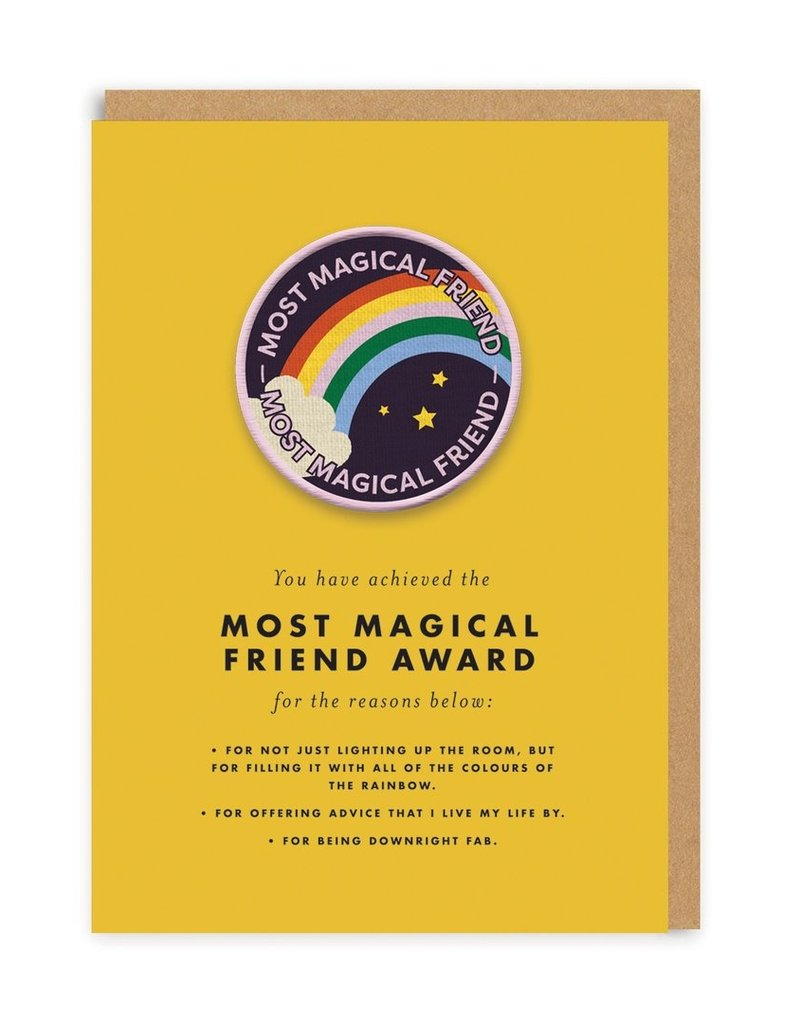 OHH DEER Love - Most Magical Friend Award + Patch