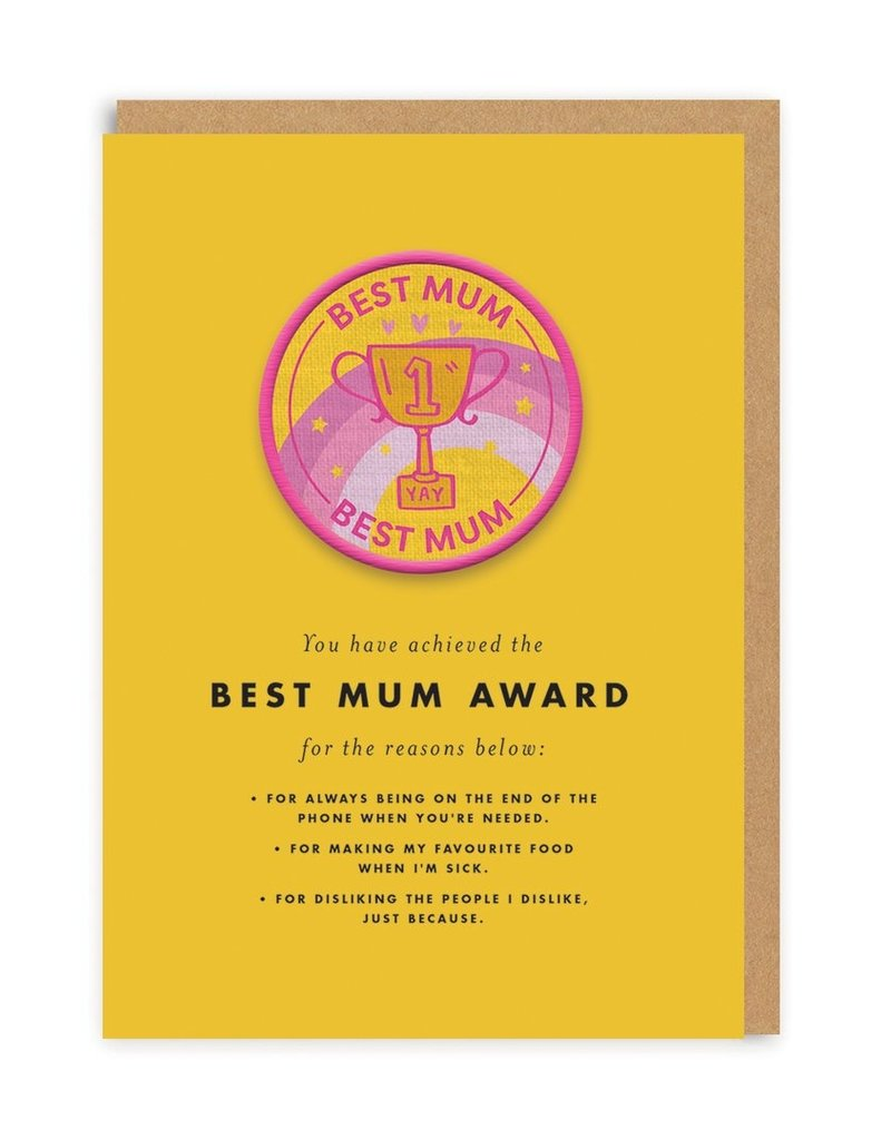 OHH DEER MomLove - Best Mum Award + Patch