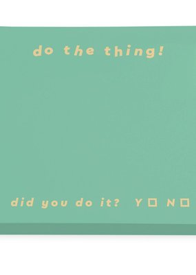 OHH DEER Block Note - Do The Thing