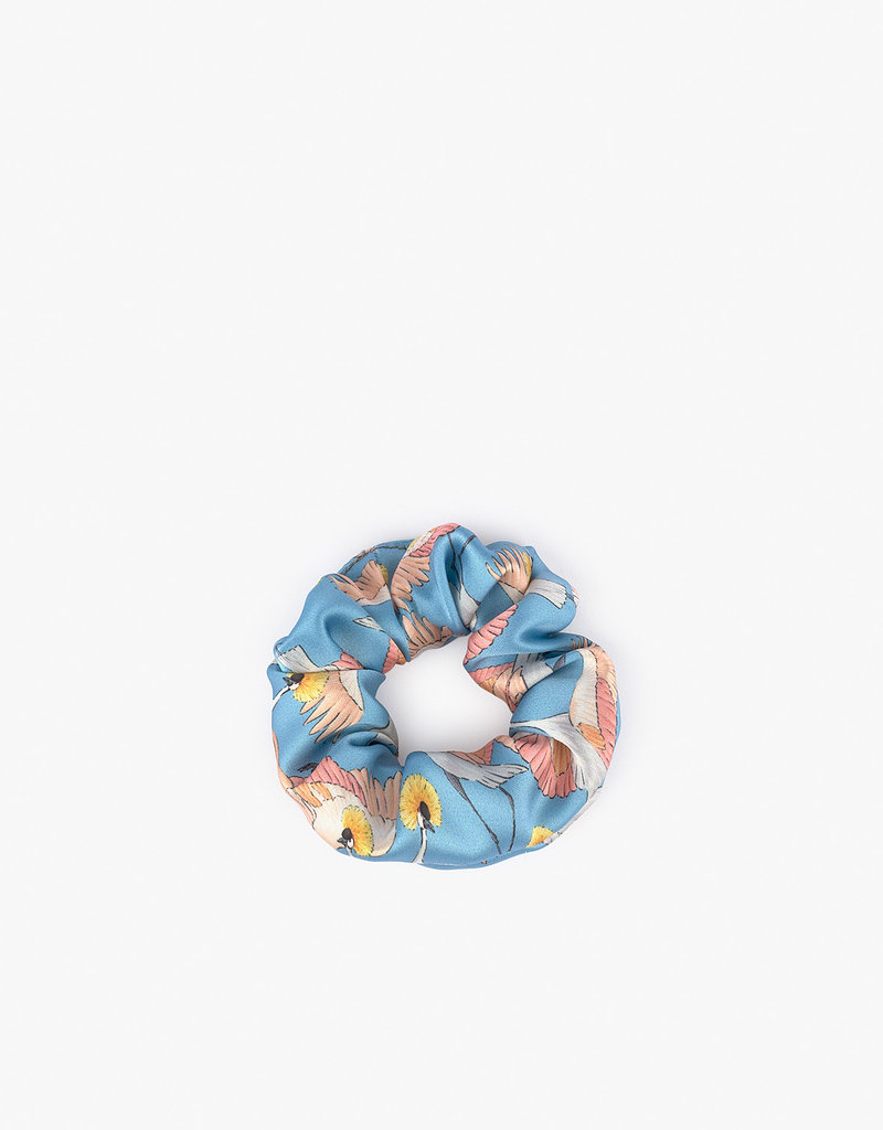 WOUF Scrunchies - Imperial Heron & Botanic