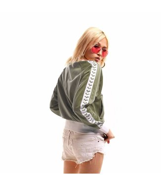 Arena W Relax Iv Team Jacket army-white-army