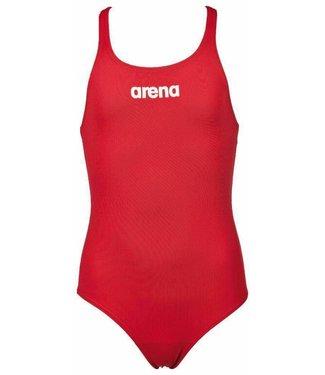 Arena G Solid Swim Pro Jr red/white