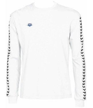 Arena M Long Sleeve Shirt Team white-white-black