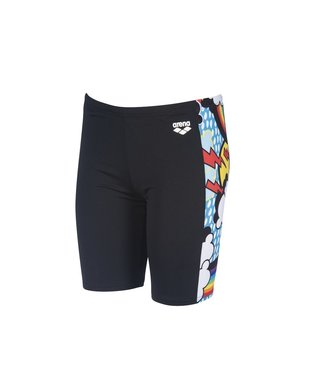 Arena B Rainbows Jr Jammer black-multi