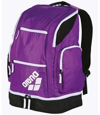 Arena Spiky 2 Large Backpack purple-white-fluogreen