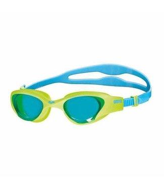Arena The One Jr lightblue-lime-blue