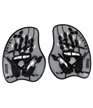 Arena Vortex Evolution Hand Paddle silver/black