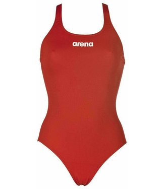 Arena W Solid Swim Pro red/white