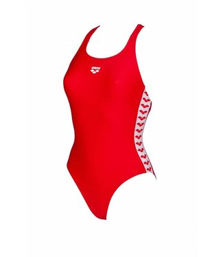 Arena W Team Fit Racer Back One Piece red