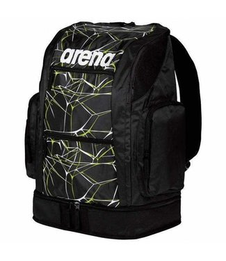 Arena Water Spiky 2 Large Backpack Zwart / lime