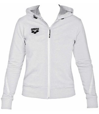 Arena W Tl Hooded Jacket white