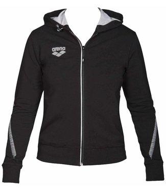 Arena W Tl Hooded Jacket black