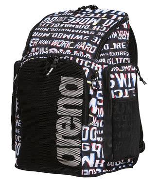 Arena Team Backpack 45 Allover Neon-Glitch