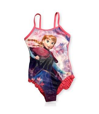 Disney Badpak Frozen Anna - Fuchsia/Multi