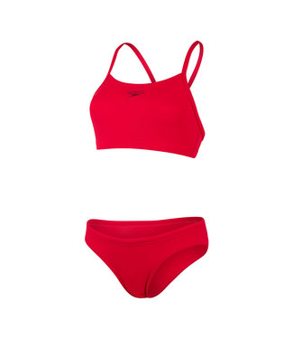 Speedo Endurance Essential Thinstrap 2 Pieces - Rood