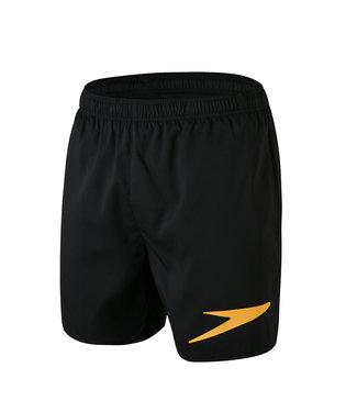 Speedo Sport Logo 16 - Zwart/Oranje