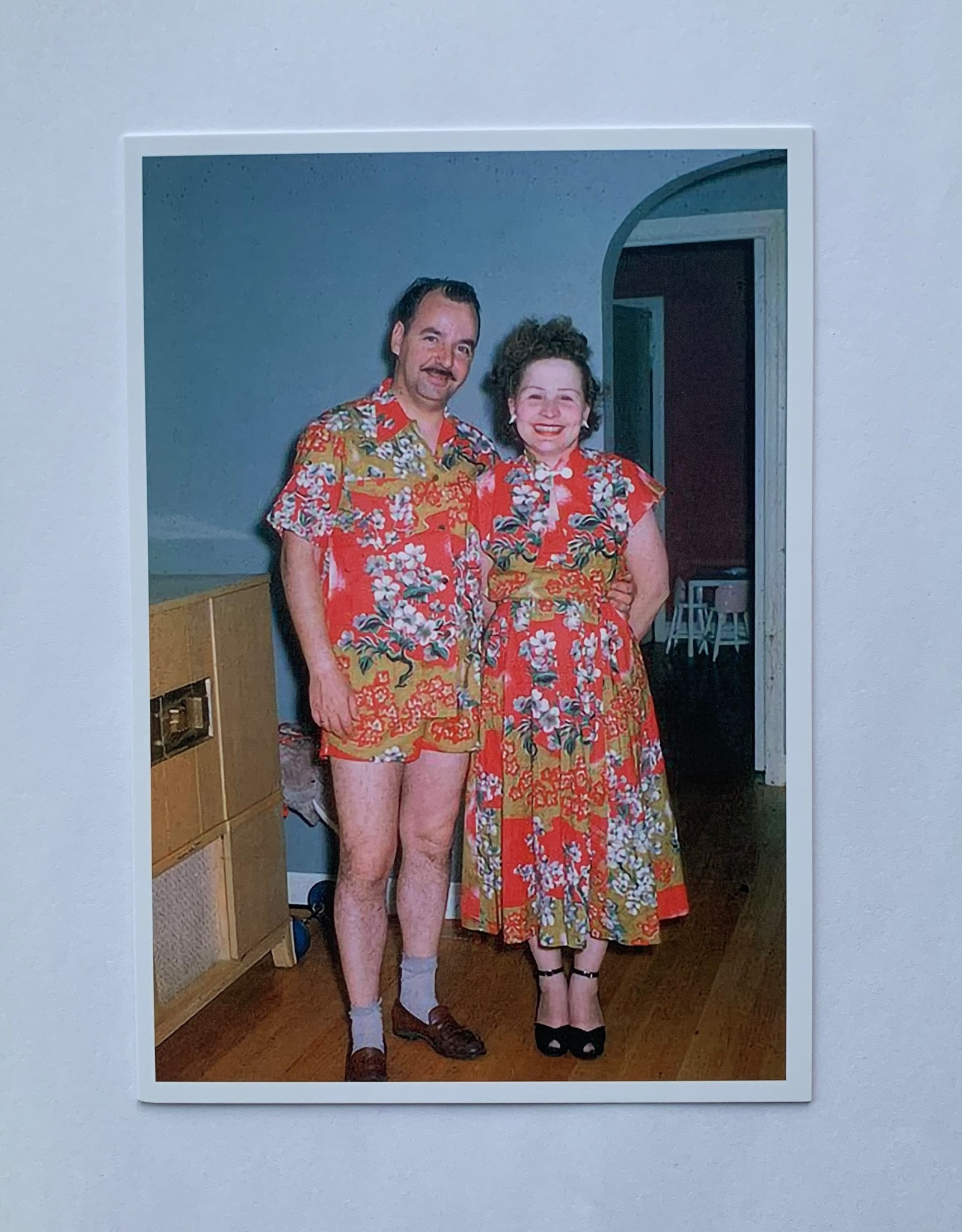 Plaizier Couple in flower outfit