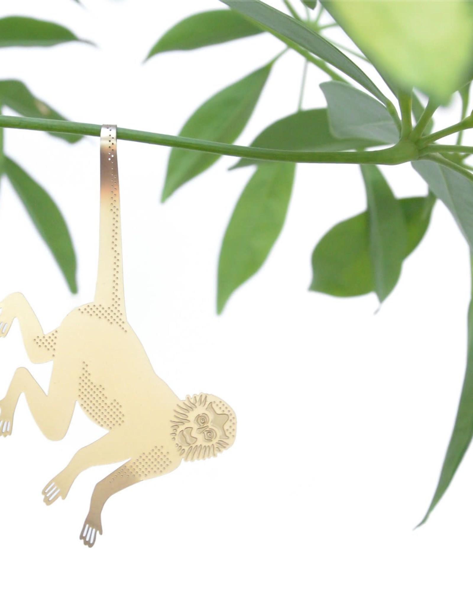 another studio Golden plant hanger - Monkey