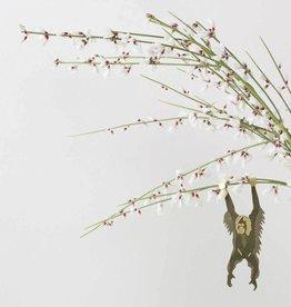 another studio Golden plant hanger - Orangutan