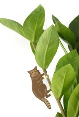 another studio Golden plant hanger - Raccoon