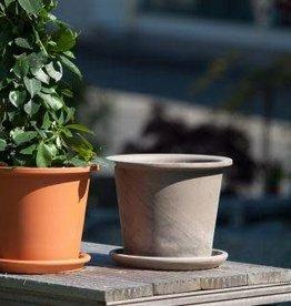 Van Der Gucht Terracotta Set with saucer ∅ 28